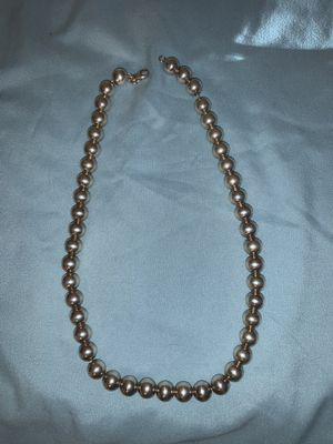 Tiffany & Co Sterling Silver Bead Necklace for Sale in Atascosa, TX