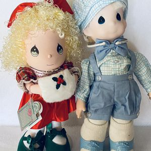 Precious Moments Girl And Boy Doll Vintage for Sale in Scottsdale, AZ