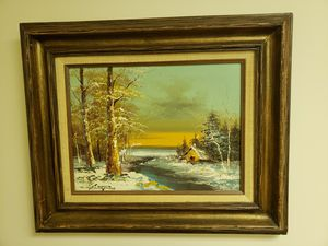 Oil painting Vintage for Sale in Gambrills, MD
