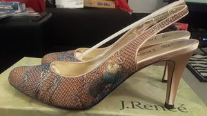 Gold multi lace over heels for Sale in Overland, MO