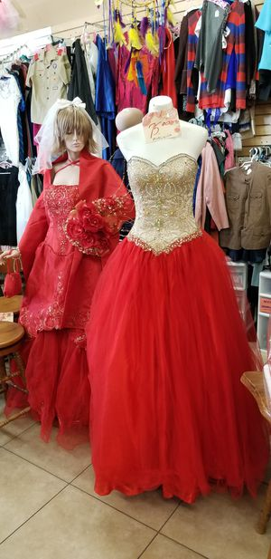 Quinceanera dress for Sale in Yucca Valley, CA