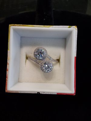 Silver cz ring for Sale in Milwaukie, OR