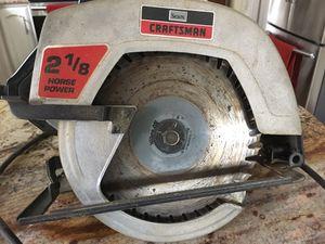 "Craftsman 7 1/2"" circular saw for Sale in Oakton, VA"