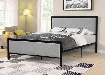 Queen Bed, Grey, SKU# MLT7599QTC for Sale in Norwalk,  CA
