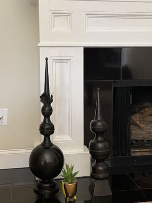 POTTERY BARN IMPERIAL FINIALS for Sale in San Diego, CA