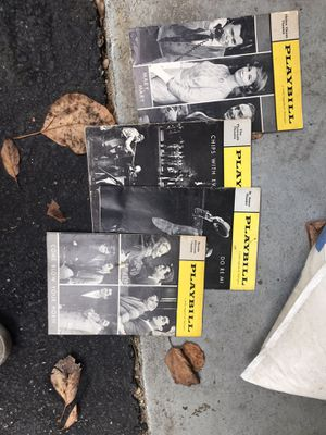 4 playbills for Sale in Dix Hills, NY