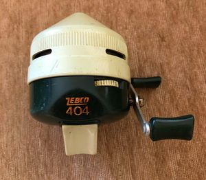 Zebco 404 Fishing Reel Push Button for Sale in Hurricane, WV