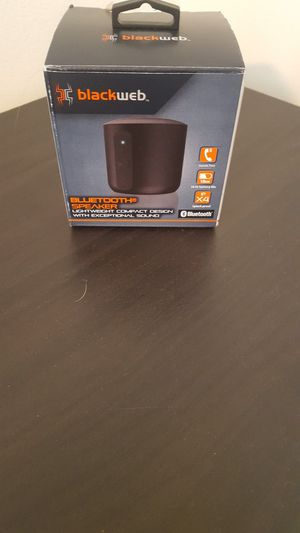 Blackweb Bluetooth speaker for Sale in Colorado Springs, CO