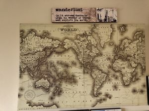 World map for Sale in Cheverly, MD