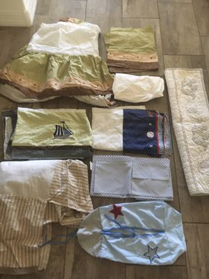 Baby boy crib bedding for Sale in Queen Creek, AZ