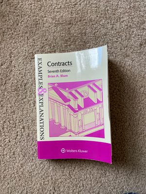 Contracts, Seventh Edition, Blum for Sale in Lynchburg, VA