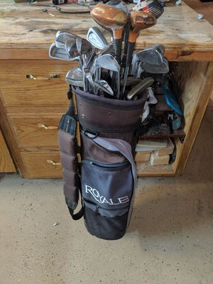 Golf clubs and bag for Sale in Prineville, OR