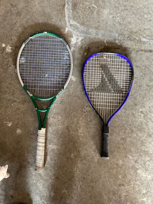 2 tennis rackets for Sale in Vancouver, WA