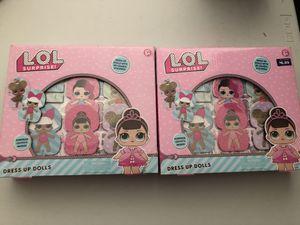 Lol surprise dress up dolls 2 sets for Sale in Las Vegas, NV