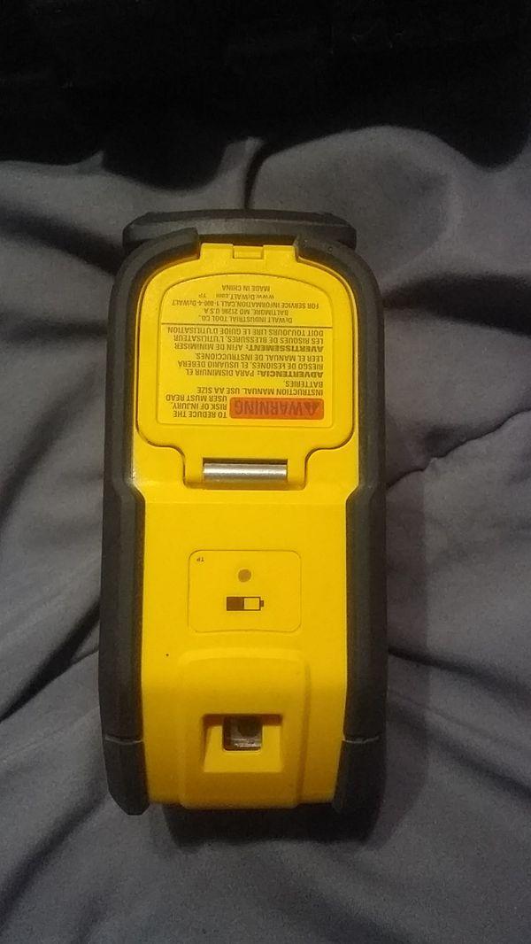 Dewalt DW083 laser pointer
