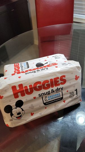 Huggies size 1 for Sale in Grand Prairie, TX
