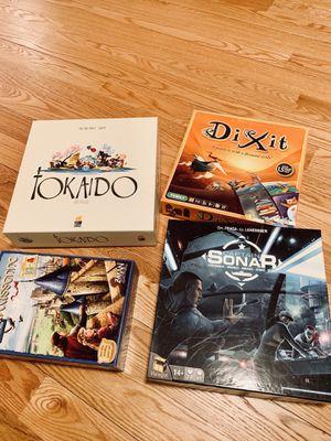 Four Board games for Sale in Boston, MA