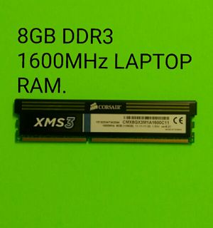 8GB DDR3 GAMING RAM FOR SALE. for Sale in Phoenix, AZ