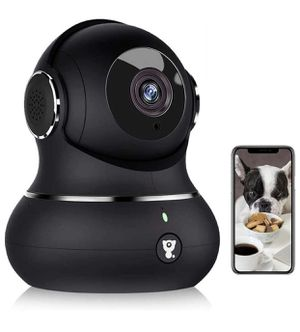 1080P Wireless Pet Security Surveillance Camera, with WiFi, Baby / Elder / Pet / Nanny IP Camera with Motion Detection, 2-Way Audio, Night Vision, TF for Sale in Union City, NJ