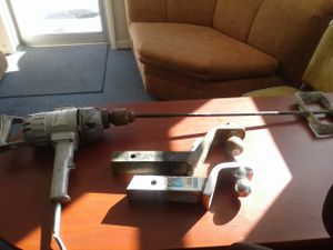 Power tool paint mixer $25 and Reese hitches $10 each for Sale in Stevensville, MD