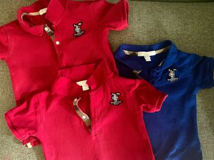 Burberry polo tees for Sale in Fort Washington, MD