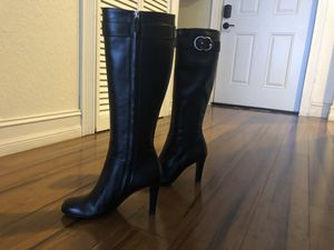 Authentic Gucci black knee high boots Sz: 38/8 for Sale in Fort Lauderdale, FL