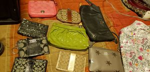 Coach wallets wristlet s,and coin purses for Sale in Gastonia, NC
