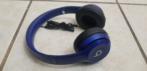 Beats by dr dre solo 2 blue wired for Sale in Peoria, AZ