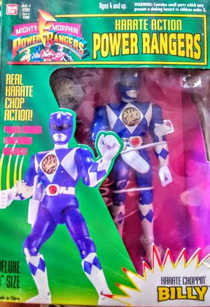 Collectable Mighty Morphin Power Rangers Karate Choppin BILLY for Sale in Homeland, CA
