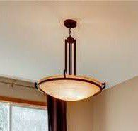 Dark Brown Dining Room Light Fixture for Sale in Federal Way, WA