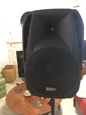 Bluetooth active speaker Edison m-2000 for Sale in Jacksonville, FL