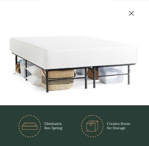king bed frame base de hierro king for Sale in Miami, FL
