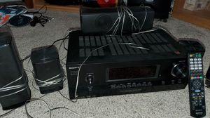 Sony multi channel AV receiver STR-DH510 with HDMI Dts digital sound, Dolby, Digital Cinema sound. for Sale in Modesto, CA