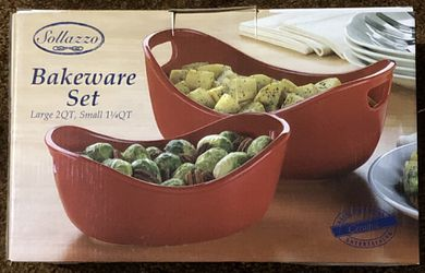 Solazzo Bakeware 2pc set for Sale in Tinley Park,  IL