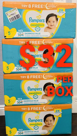 Pampers Swaddled size 5 for Sale in Long Beach, CA