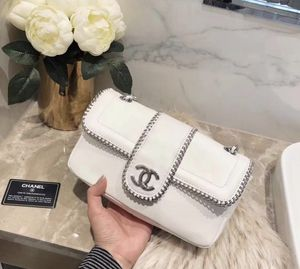 Chanel flap white bag for Sale in San Jose, CA