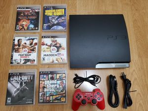Playstation 3 Complete With Controller And 6 PS3 Games for Sale in Monterey Park, CA
