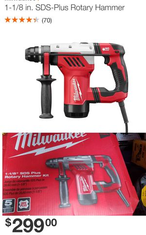 Milwaukee SDS-PLUS ROTARY HAMMER for Sale in Austell, GA