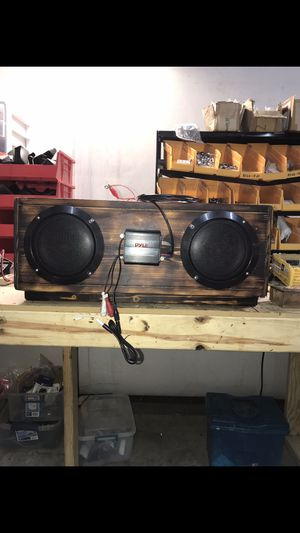 Custom built ATV speaker box for Sale in Paragould, AR