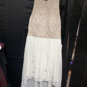 Core Social Dress Cream Color $45 for Sale in Mount Laurel Township, NJ