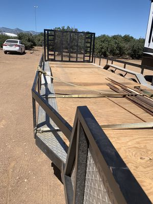 Flat bed trailer for Sale in Phelan, CA