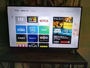 "TCL ROKU 50"" for Sale in Portland, OR"