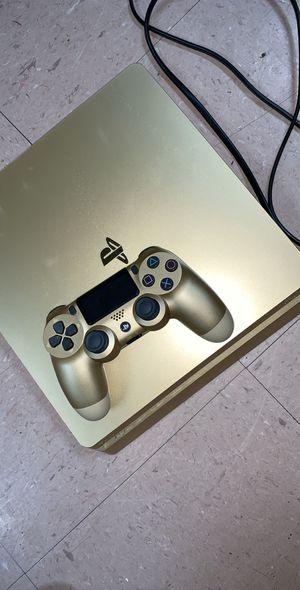 GOLD PS4 SLIM 1TB for Sale in Gaithersburg, MD