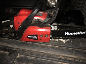 """Homelite 14"""" chainsaw for Sale in Carlstadt, NJ"""
