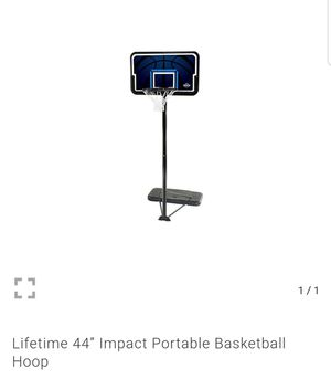 """Lifetime 44"""" Impact Portable Basketball Hoop - BRAND NEW IN BOX for Sale in Rancho Cucamonga, CA"""