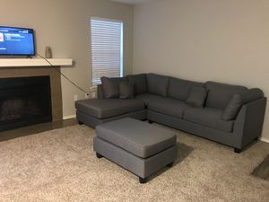 New sectional couch for sale , small I need a bigger one for Sale in Garland, TX