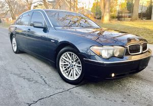2005 BMW 745i • Massage Driver Seat • Camel Leather • Drives Smooth like an airplane for Sale in Silver Spring, MD