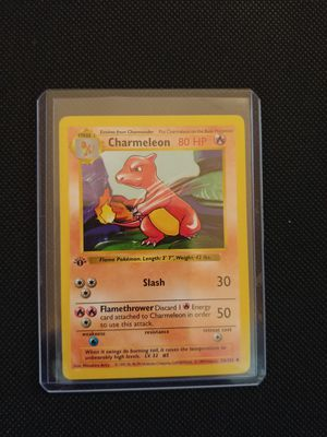 RARE Prestine Pokemon 1st Edition Shadowless Base Set Charmeleon #24 - Gem Mint for Sale in Modesto, CA