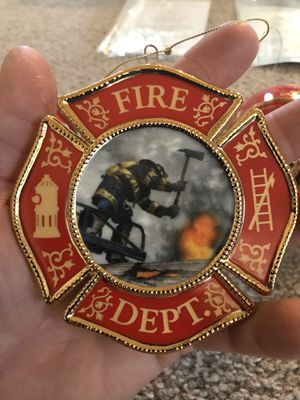 Collectible Christmas Firefighter Ornaments for Sale in Powell Butte, OR