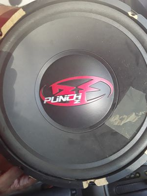 Rockford Fosgate Punch Z 12' Subwoofer speakers (2) for Sale in Warrenton, VA